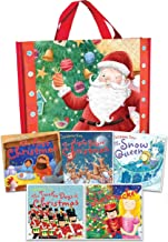 Christmas Time Collection 5 Books Set in a Bag Children Gift Pack (The First Christmas, The Night Before Christmas, The Nutcracker, The Snow Queen, The Twelve Days of Christmas) (Childrens books age 3
