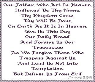Endless Inspirations Original Cross Stitch Pattern, The Lord's Prayer