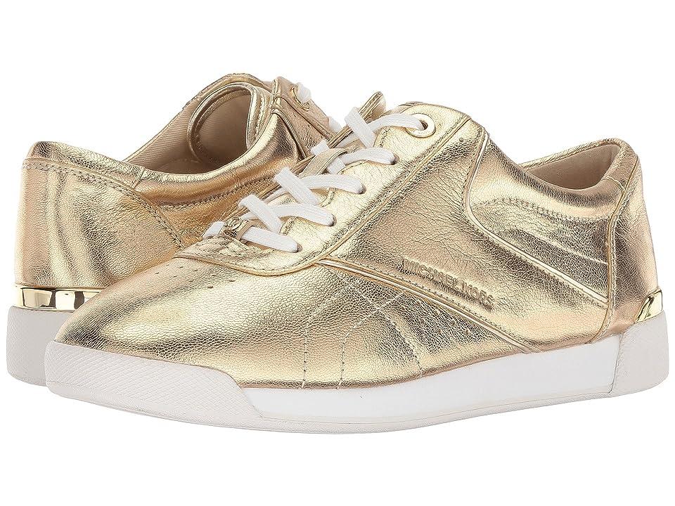 MICHAEL Michael Kors Addie Lace-Up (Pale Gold) Women