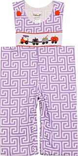 Babeeni Smocked Romper Featured with Train Smocked Pattern on The Bodice, Snap at Crotch for Easy Dressing, Shoulder Buttons