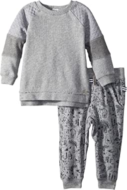 Splendid Littles - Mixed Fabric Pants Set (Infant)