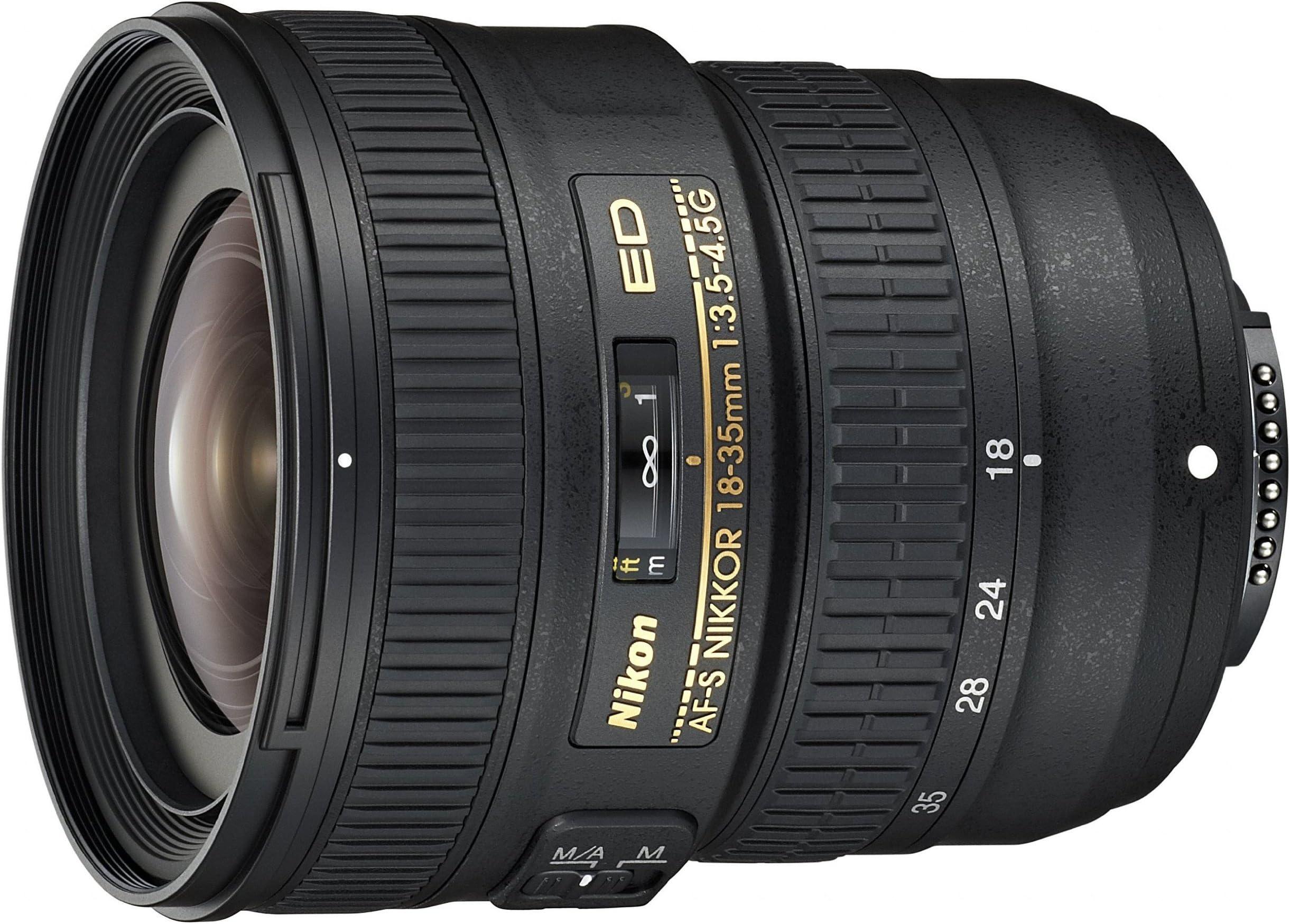 Nikon AF-S FX NIKKOR 18-35mm f/3.5-4.5G ED Zoom Lens with Auto Focus for Nikon DSLR Cameras