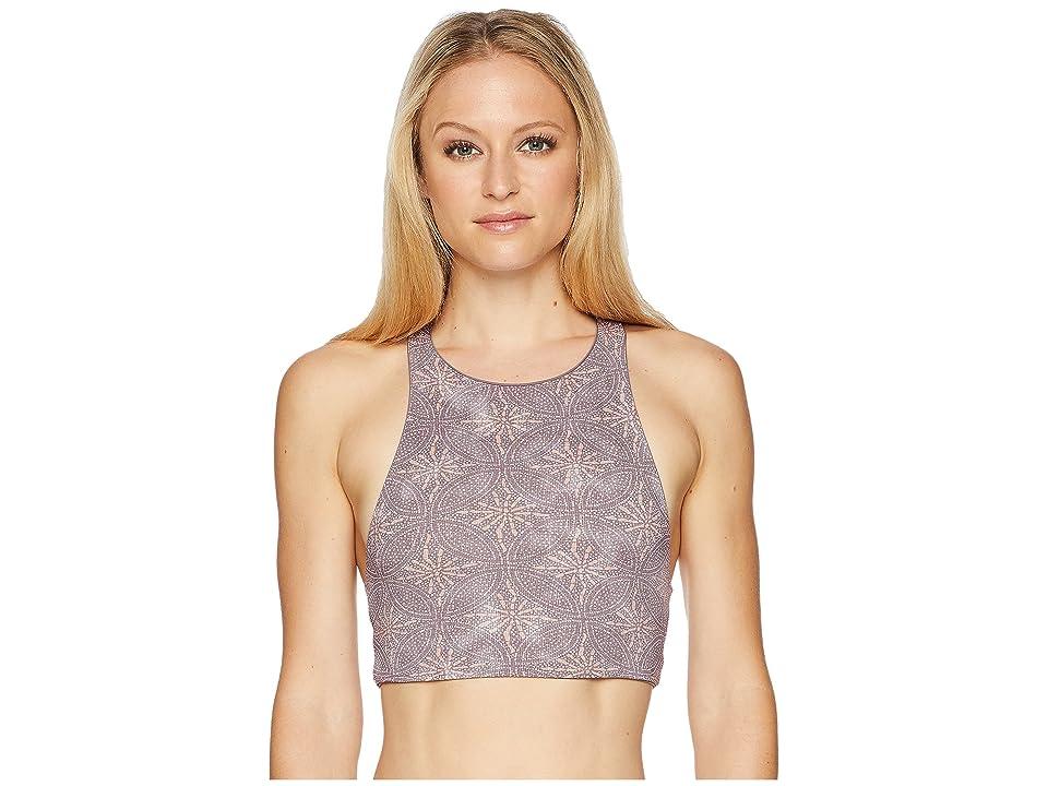 Carve Designs Sanitas Reversible Bikini Top (Sparrow/Batik Circles) Women