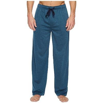 Jockey Poly Rayon Jersey Knit Sleep Pants (Royal Heather) Men