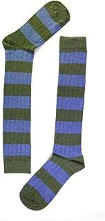 naive, RUG42L Calcetines altos, Verde (Jeans/Verde 42), 43/46 (Tamaño del fabricante:G) para Hombre