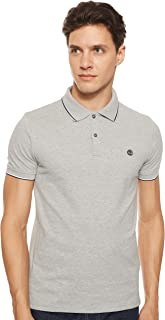Timberland Men's SS Millers River Pique Tipped Slim Polo