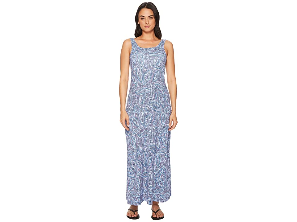 Columbia Freezertm Maxi Dress (Night Tide Mosaic Print) Women