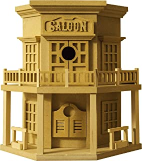 American Original Dollhouse DIY Old West Saloon Birdhouse Kit