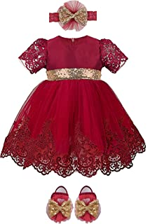 Best newborn dresses for christmas Reviews