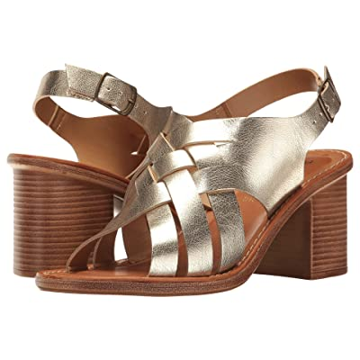 Bella-Vita Max-Italy (Gold Leather) High Heels