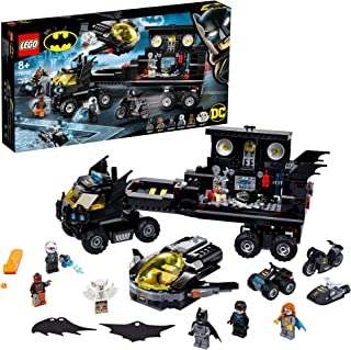 LEGO DC Super Heroes Mobile Bat Base 76160 Batman set with 4 vehicles and 6 minifigures, Toy for kids 8+ years (743 pieces)