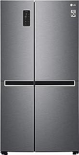 LG GSB470BASZ Freestanding 613L A++ Graphite side-by-side refrigerator - LG GSB470BASZ, Freestanding, Graphite, American d...