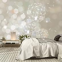 murimage Papel Pintado Diente de León 366 x 254 cm Incluye Pegamento decoración luz Flores Plantas Sala Living Dormitorio Fotomurales