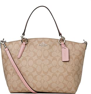 Coach Small Kelsey Satchel In Signature Canvas F28989