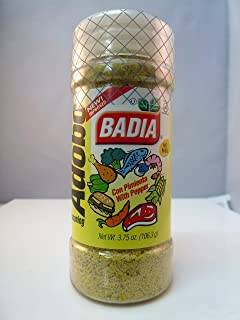 Badia Adobo Seasoning with Pepper/Con Pimienta