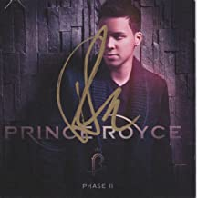 Prince Royce signed Phase 2 cd