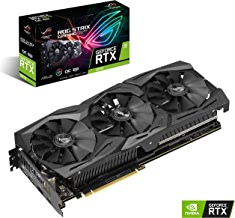 ASUS ROG STRIX GeForce RTX 2070 Overclocked 8G GDDR6 VR Ready HDMI DP 1.4 USB Type-C Graphics Gaming Card (ROG-STRIX-RTX-2070-O8G)