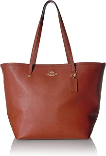 COACH Women's Crossgrain Large Street Tote