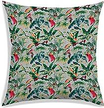 RADANYA Tropical Printed Throw Pillow Cover Home Decorative Pillows Square Cushion Covers Sofa Polyester Home Decor 12 X 1...