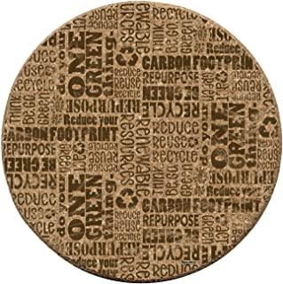 Thirstystone Reuse Recycle Cork Coaster Set