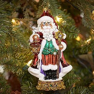 Christopher Radko Kringle Kracker Glass Christmas Ornament 2014