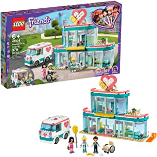 LEGO Friends Heartlake City Hospital 41394 Best Doctor Toy Building Kit, Featuring LEGO Friends Character Emma, New 2020 (...