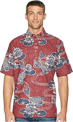 Kyoto Ponds Pop Over Aloha Shirt