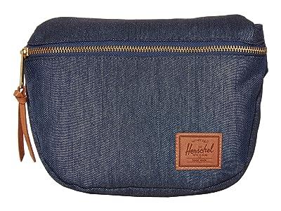 Herschel Supply Co. Fifteen (Indigo Denim Crosshatch) Bags