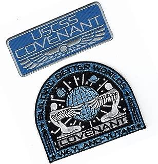 Bundle Covenant Alien Movie Prometheus Covenant Weyland Corp Crew Hook Patch