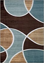 Better Homes and Gardens Geo Waves Area Rug, 7 x 10