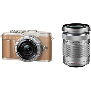 OLYMPUS ミラーレス一眼カメラ PEN E-PL9 ダブルズームキット ブラウン