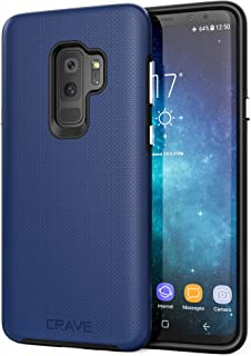 Crave S9 Plus Case, Dual Guard Protection Series Case for Samsung Galaxy S9 Plus - Navy