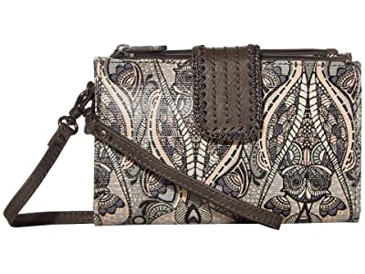 Sakroots Olympic Smartphone Crossbody (Dove Soulful Desert) Handbags