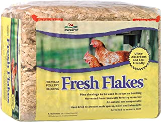 Manna Pro 1000316 Chickens Fresh Flakes Pine Shavings Bedding, 3.5 Cubic Feet