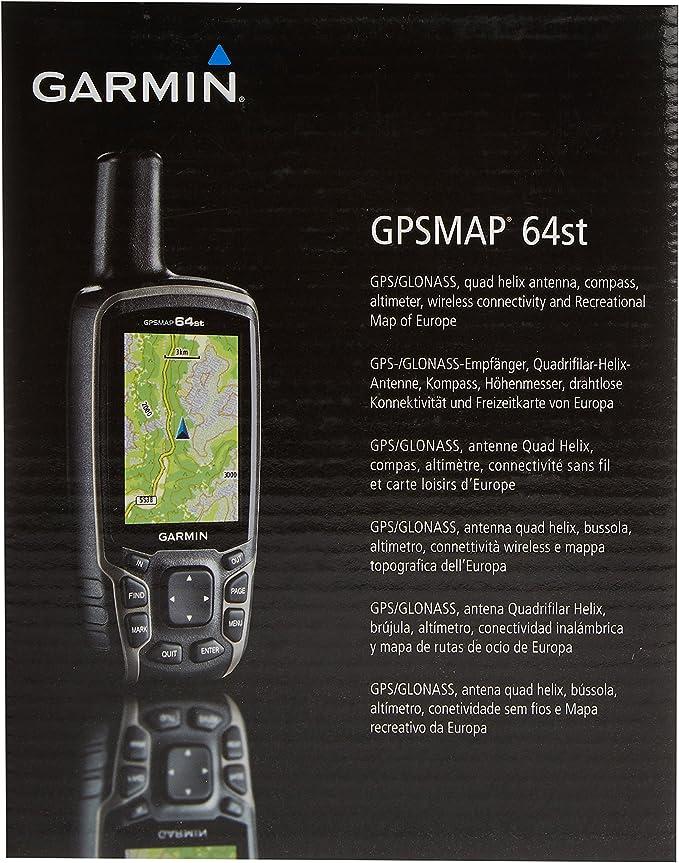 Garmin 64st-Navigador GPS, Multicolor: Amazon.es: Deportes y ...