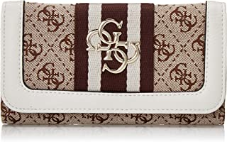 GUESS womens Guess Vintage Slim Clutch Wallet