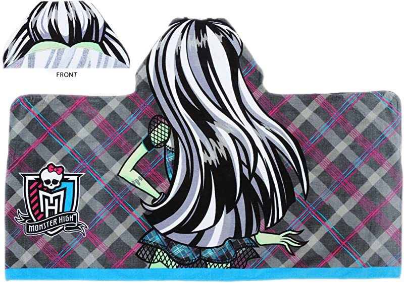 MONSTER HIGH HOODED TOWEL WRAP FRANKIE STEIN