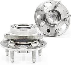 [2-Pack/Pair] QJZ 513288 Wheel Hub & Bearing Assembly for Buick Regal, Lacrosse | Cadillac CTS, XTS | Chevrolet Equinox, Impala, Malibu | GMC Terrain | Saab 9-5 [Cross Reference: HA590486, BR930777]