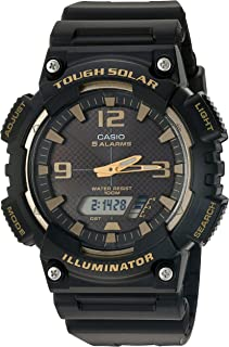 Casio Men's 'Tough Solar' Quartz Stainless Steel and...