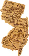 Totally Bamboo New Jersey State Destination Bamboo Serving and Cutting Board