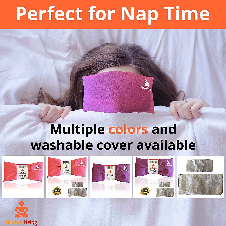 Buy Blissful Being Namaste Yoga Eye Pillow with Lavender ...