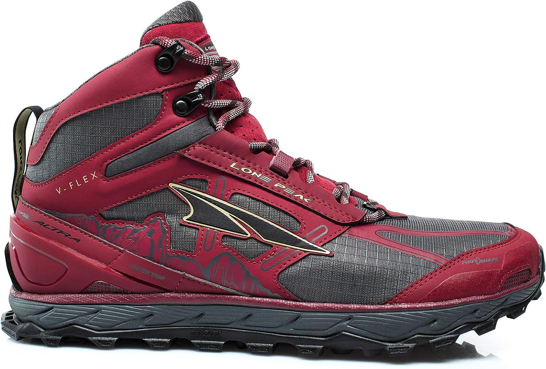 Altra Men's Lone Peak 4 Mid Mesh Trail Running shoes