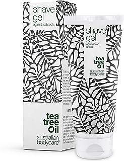 Australian Bodycare Shave Gel 200 ml | Tea Tree Oil Rakgel mot inåtväxande hårstrån och röda prickar efter rakning