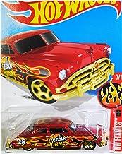 Hot Wheels, 2016 HW Flames, '52 Hudson Hornet [Red] Die-Cast Vehicle #97/250