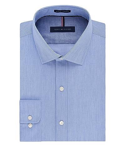 Tommy Hilfiger Dress Shirt Slim Fit Non Iron Stripe