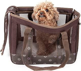 Pet Life Surround View Posh Fashion Pet Carrier
