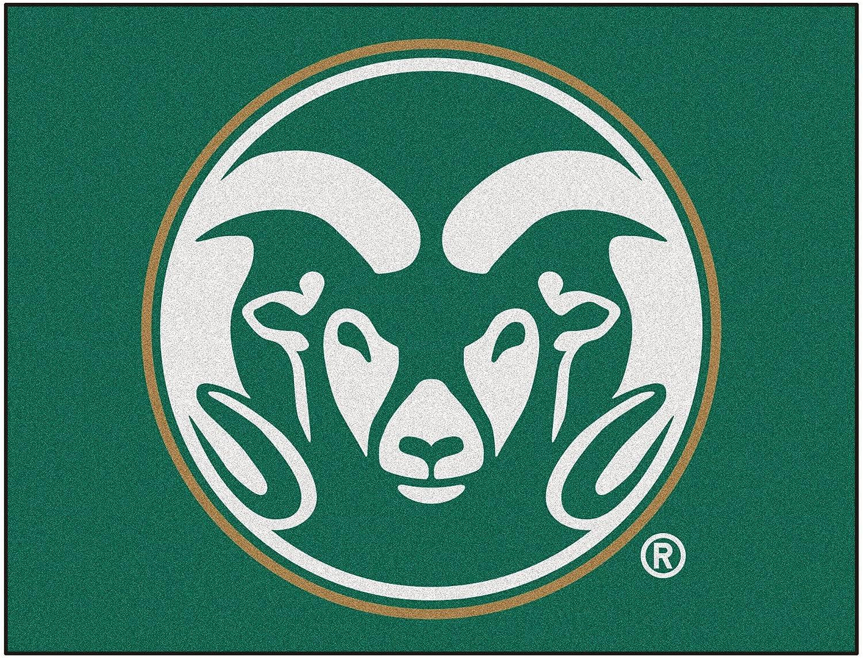 FANMATS NCAA colorado State University Rams Nylon Face AllStar Rug