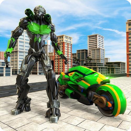 Real Robot Hero: Tron Bike Transformation