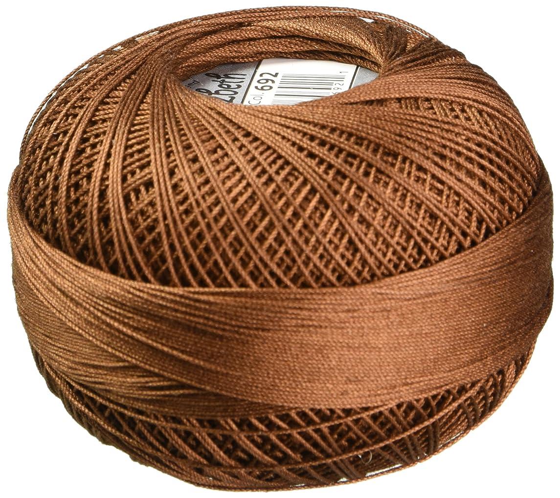 Handy Hands Lizbeth Premium Cotton Thread, Size 40, Mocha Brown Dark