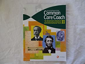 common core coach american literature and informational texts